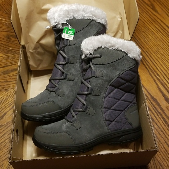 designer fashion performance sportswear designer fashion New Women's Columbia Ice Maiden ii Winter Boots NWT